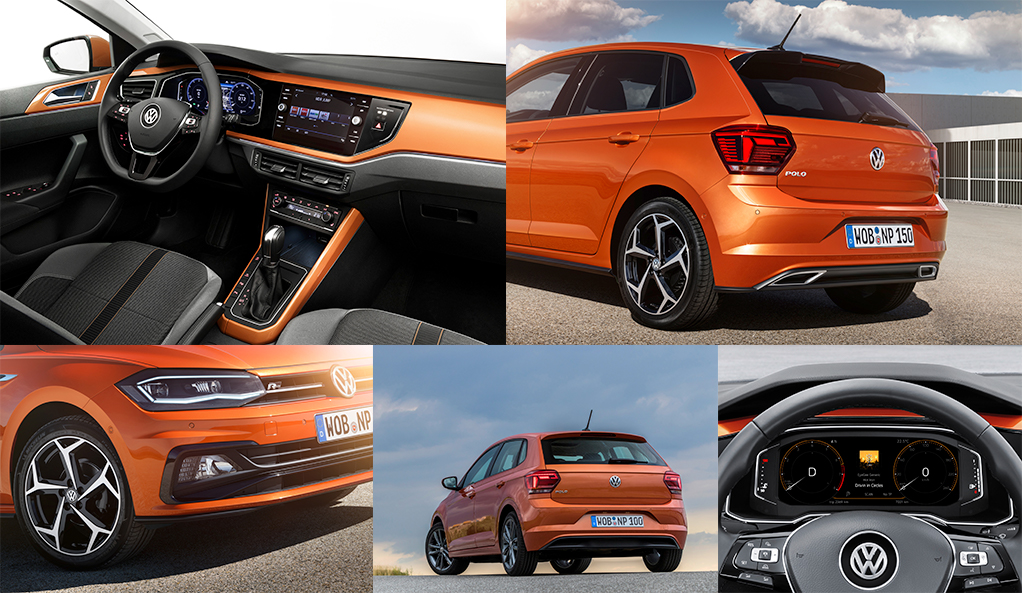 Volkswagen Polo Collage - MConde Volkswagen