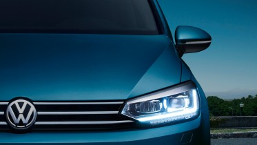 Volkswagen Touran faros led