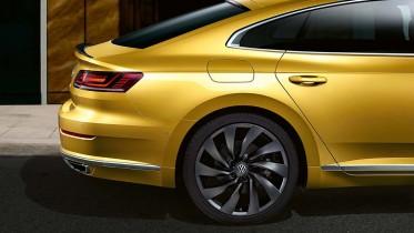 Volkswagen Arteon maletero trasera